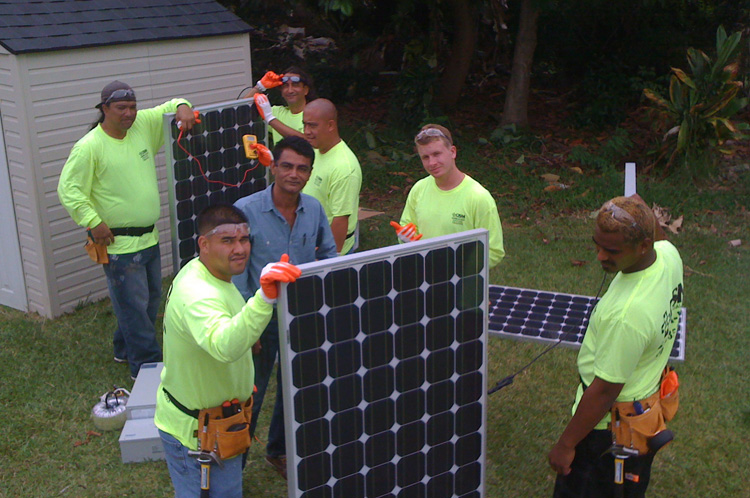 Job Training - Solar Install