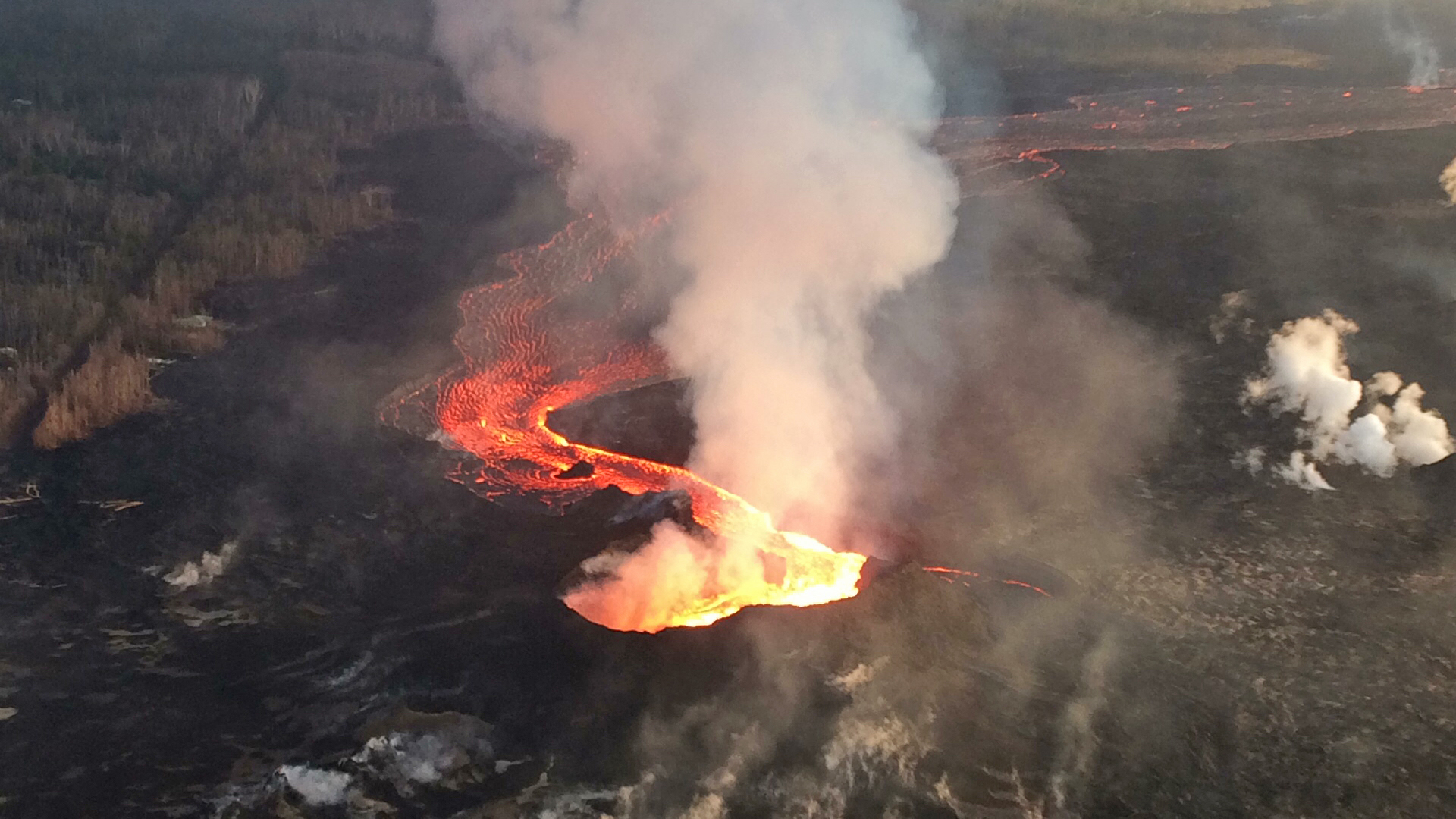 Bishop Appeals For Lava Relief And Recovery
